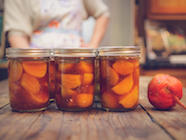 Pickled Golden Beets with Ginger - Canned found on PunkDomestics.com