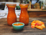 Golden Ketchup w/Heirloom Tomatoes & Peaches found on PunkDomestics.com