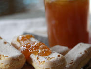 Orange, Soursop Vanilla Bean & Bourbon Jam found on PunkDomestics.com