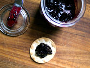 Boozy Blackberry Kumquat Jam found on PunkDomestics.com