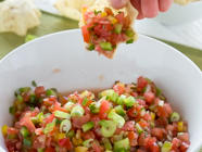 Fresh Tomato Salsa Recipe found on PunkDomestics.com