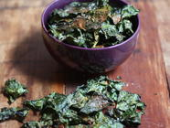 Spicy Kale Chips with a Hungarian Twist found on PunkDomestics.com