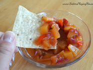 Spicy Peach Salsa found on PunkDomestics.com