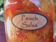 Peach & Tomato Salsa found on PunkDomestics.com