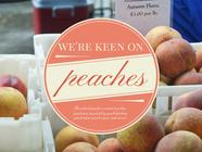 We're Keen on Peaches found on PunkDomestics.com
