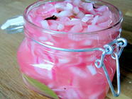 Quick Pickled Red Onions found on PunkDomestics.com