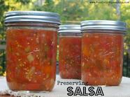 Preserving Salsa  found on PunkDomestics.com