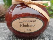 Cinnamon Rhubarb Jam found on PunkDomestics.com