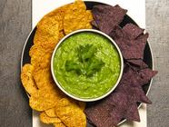 Tomatillo and Avocado Salsa found on PunkDomestics.com