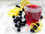 Blackberry Soda Syrup in the Pressure Cooker found on PunkDomestics.com