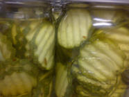 Zucchini Pickles found on PunkDomestics.com