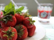 Strawberry Basil Soda found on PunkDomestics.com