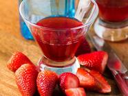 Strawberry Simple Syrup found on PunkDomestics.com