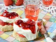 Strawberry Gin Jam found on PunkDomestics.com