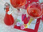 Valentine's Day Liqueur found on PunkDomestics.com