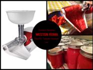 Review: Weston Roma Electric Tomato Strainer found on PunkDomestics.com