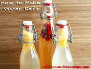 How to Make Water Kefir found on PunkDomestics.com