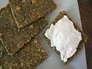 Zucchini Walnut Crackers found on PunkDomestics.com
