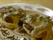 Biscuits and Sausage Gravy found on PunkDomestics.com