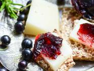 Blackcurrant and Rosemary Fruit Cheese found on PunkDomestics.com