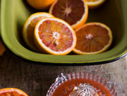Blood Orange Rhubarb and Cardamon Marmalade found on PunkDomestics.com