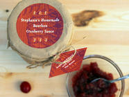 Bourbon Cranberry Sauce found on PunkDomestics.com