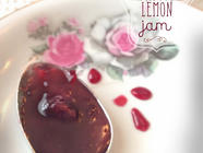 Cherry Vanilla Bean Lemon Jam found on PunkDomestics.com