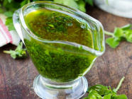 Easy Chimichurri Recipe found on PunkDomestics.com