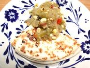Roasted Corn and Tomatillo Salsa found on PunkDomestics.com