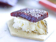 Crab Apple and Wild Damson Cheese found on PunkDomestics.com