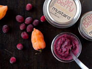 Cranberry Habanero Mustard found on PunkDomestics.com