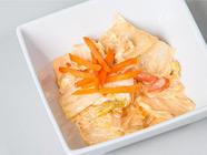 Fermented Sriracha Cabbage Salad Recipe found on PunkDomestics.com