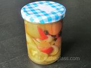 Green Tomato Pickled Salad found on PunkDomestics.com