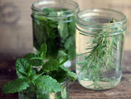 Herb-Infused Vodka found on PunkDomestics.com
