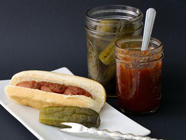 Pickles for Hot Dogs found on PunkDomestics.com