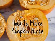 How to Make Pumpkin Purée found on PunkDomestics.com