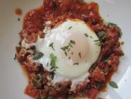 Huevos Diablos con Chorizo found on PunkDomestics.com