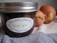 Savory Onion Jam with Rosemary found on PunkDomestics.com