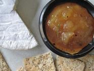 Peppered Peach and Rosemary Jam found on PunkDomestics.com