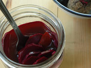 Fermented Beets with Ginger & Orange found on PunkDomestics.com