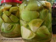 Pickled Green Tomatoes found on PunkDomestics.com