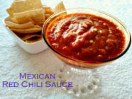 Mexican Red Chili Sauce found on PunkDomestics.com