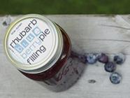 Rhubarb Blueberry Pie Filling found on PunkDomestics.com