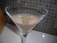 Rhubarb Vodka Martini found on PunkDomestics.com