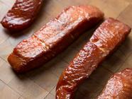 Smoked Salmon Candy found on PunkDomestics.com