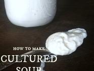 Cultured Sour Cream found on PunkDomestics.com