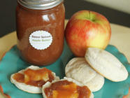 Sweet Spiced Apple Butter found on PunkDomestics.com