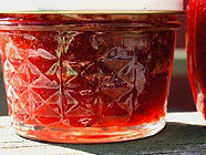 Strawberry Rhubarb & Caramelized Onion Jam found on PunkDomestics.com