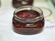 Small Batch Strawberry Vanilla Jam  found on PunkDomestics.com