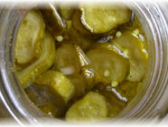Sweet and Hot Refrigerator Curry Pickles found on PunkDomestics.com